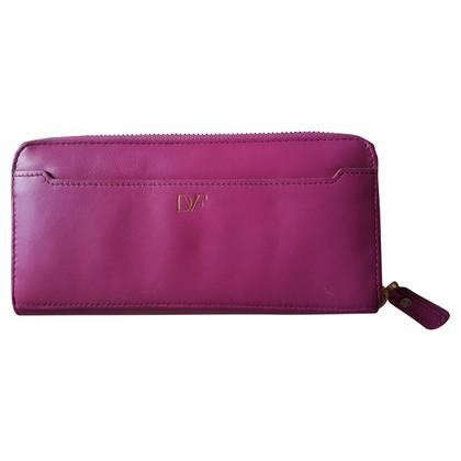 Diane von Furstenberg Pink Wallet 'Lips'
