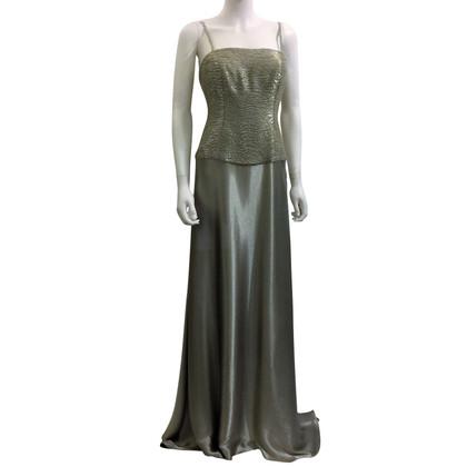 Ralph Lauren Abendkleid im Metallic-Look