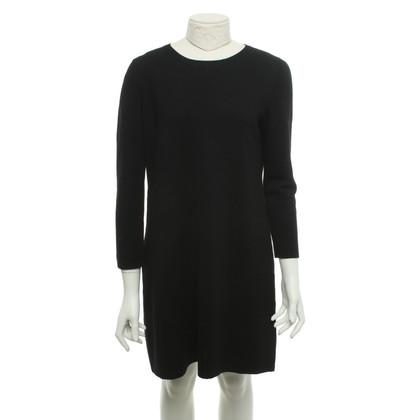 Maliparmi Robe en maille noire