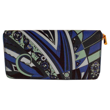 Emilio Pucci leather wallet