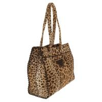 Prada Handbag with animal pattern
