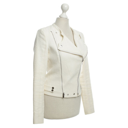 Hugo Boss Jacke in Creme