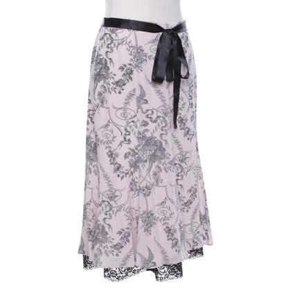 Barbara Schwarzer skirt made of silk