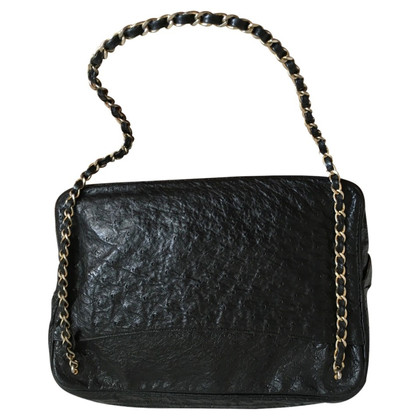 Chanel Camera bag made from ostrich leather