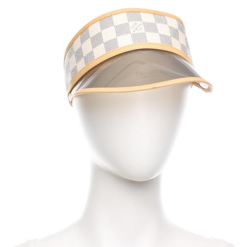 b5e58139c5f59 Louis Vuitton Hat Cap in Cream - Second Hand Louis Vuitton Hat Cap ...