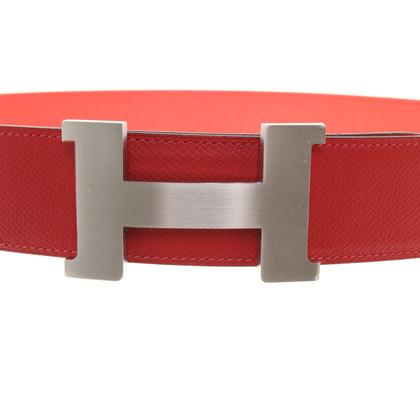 Hermès Omkeerbare riem met logogesp