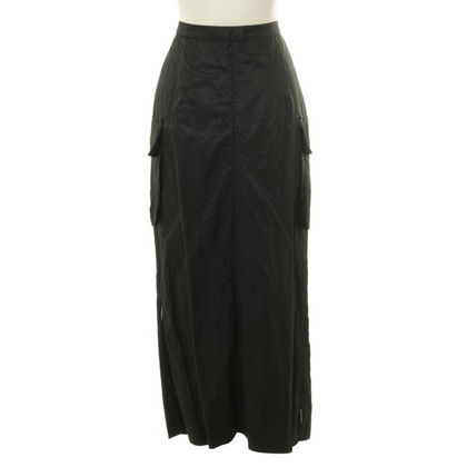 Airfield Long skirt in black