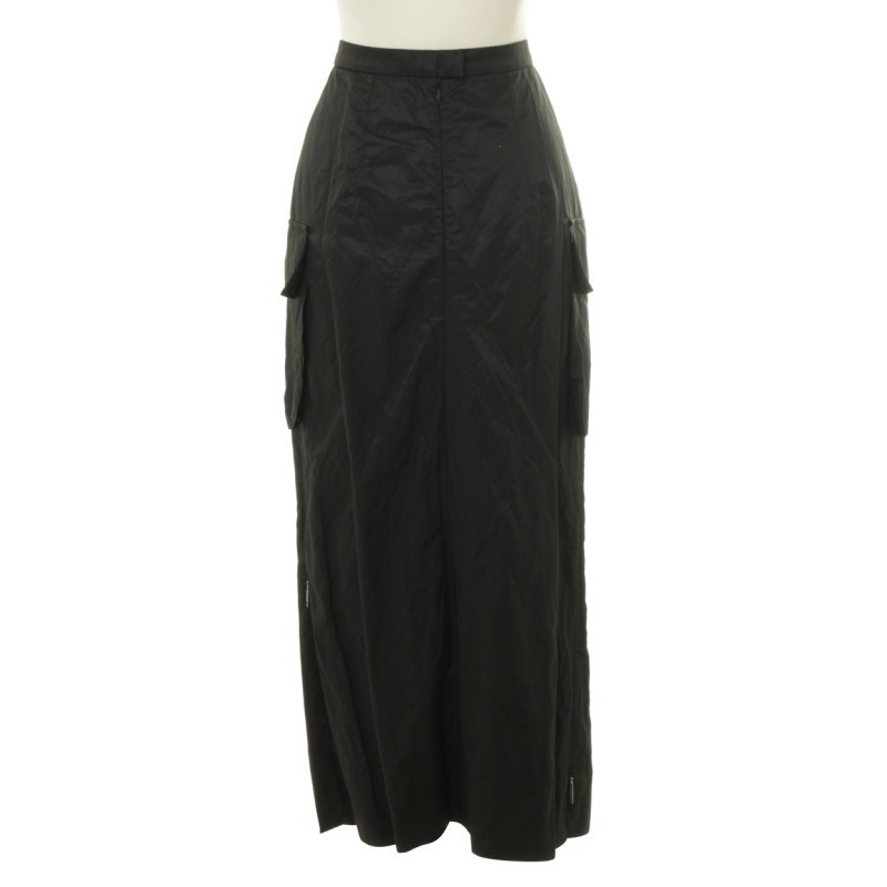 Airfield Long skirt in black
