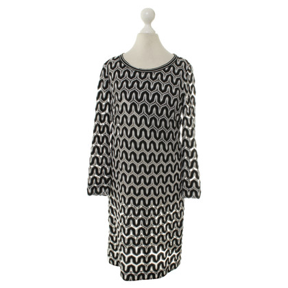 Riani Kleid in Schwarz/Weiß