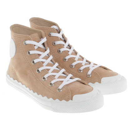 Chloé High-top sneakers in apricot