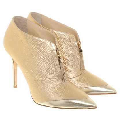 Jimmy Choo Gold colored ankle boots