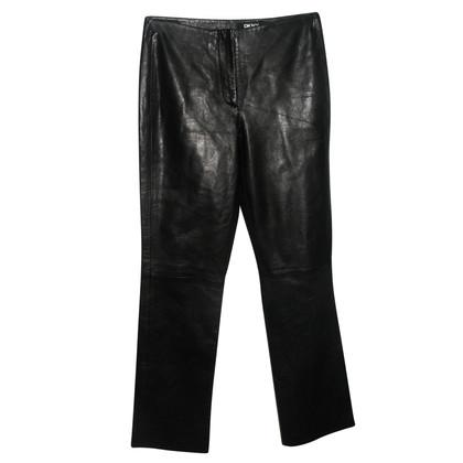 DKNY leather pants