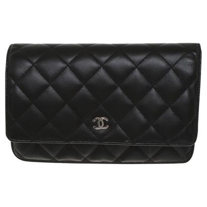 "Chanel ""Wallet On Chain"" in Schwarz"