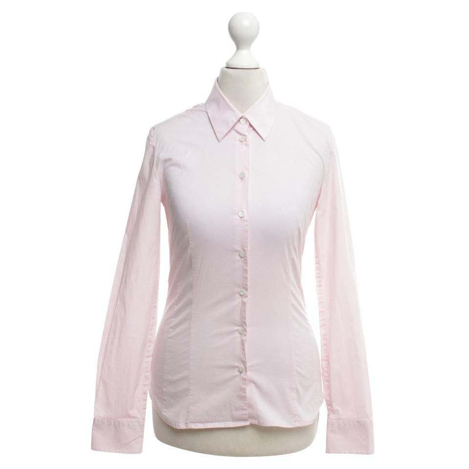 Hugo Boss Klassische Bluse in Rosa