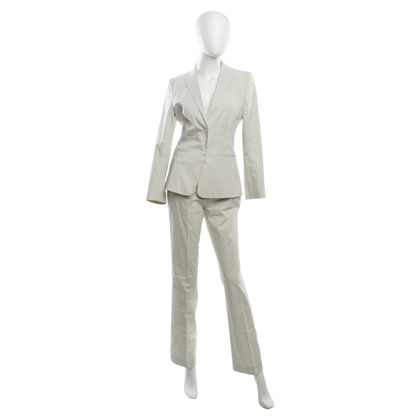 Hugo Boss Suit in Wit Grijs