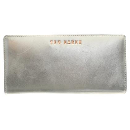 Ted Baker portafoglio color argento