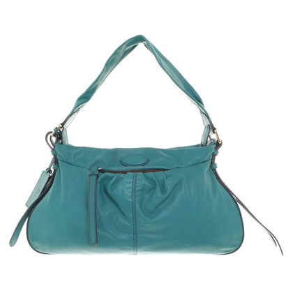 Lancel Handtasche in Petrol