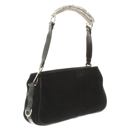 Yves Saint Laurent Suede handbag