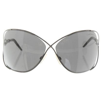 Roberto Cavalli Lunettes de soleil en gris foncé