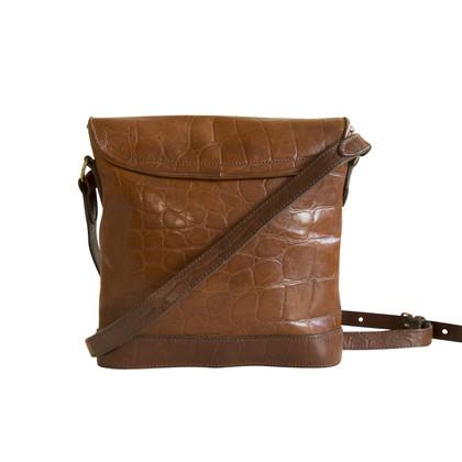 Mulberry Cross Body Bag en cuir Congo