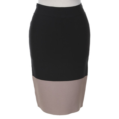 BCBG Max Azria skirt in black / beige
