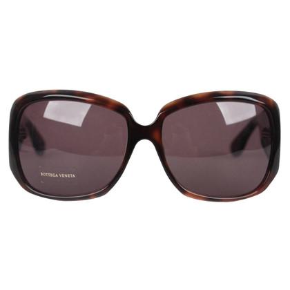 Bottega Veneta Sonnenbrille in Braun