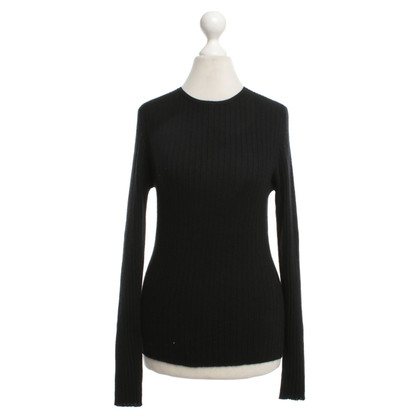 Allude Cashmere sweaters in black