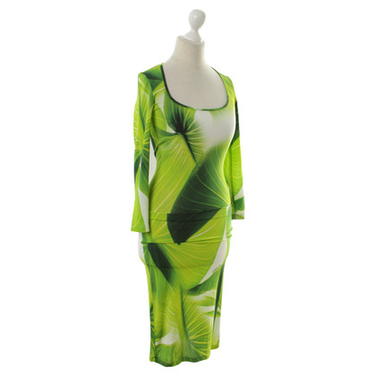 Just Cavalli Dress with leaf pattern