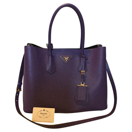 Prada Dubbele handgreep Tote Bag