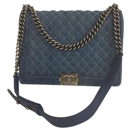 "Chanel ""Boy Bag Large Denim"""
