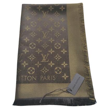 Louis Vuitton Sjaal Monogram in Bruin