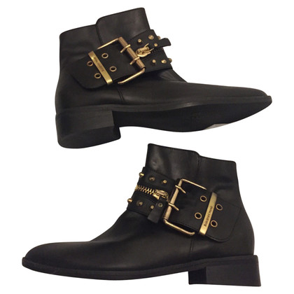 Baldinini Black leather boots