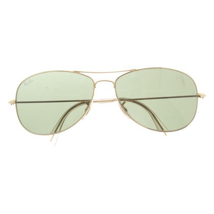 Ray Ban Gold-colored sunglasses