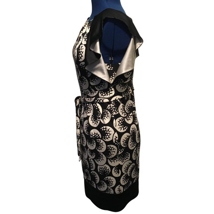Diane von Furstenberg Elastisches Seidenkleid
