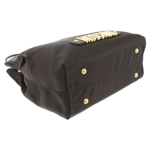Moschino Handtasche in Schwarz Schwarz