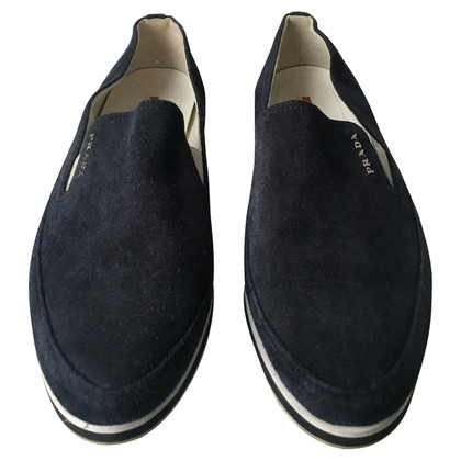 Prada Slipper in blauw