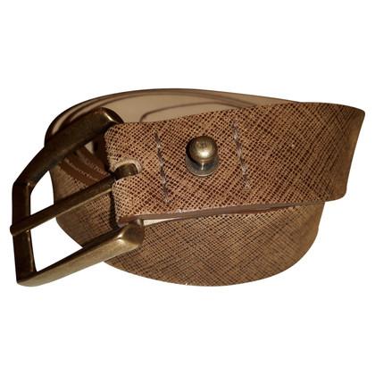 Brunello Cucinelli Cintura nabuk