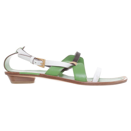 Prada Sandals in Green