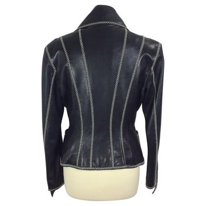 Karl Lagerfeld Vintage Lederjacke