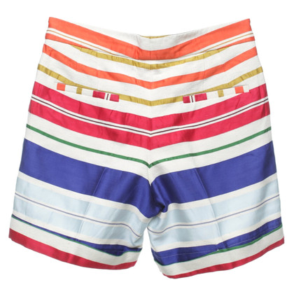 Stella McCartney High-waist shorts in multicolor