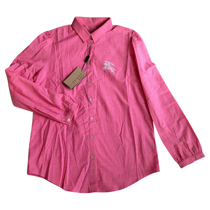 Burberry Long sleeve blouse in pink