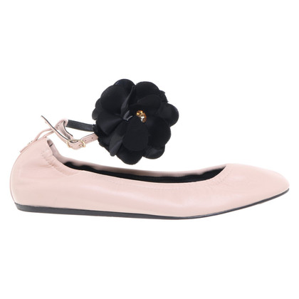 Lanvin Ballerinas with flower