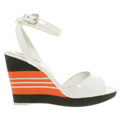 Prada Wedges in tricolor
