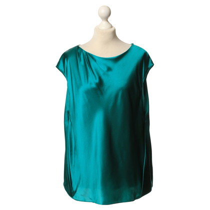 L.K. Bennett Silk top Green