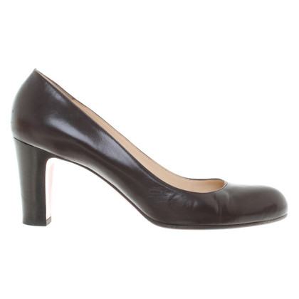 Christian Louboutin Leather Pumps in Brown