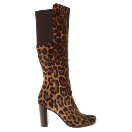 Dolce & Gabbana Stiefel in Animal-Design