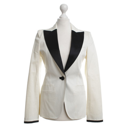 Just Cavalli for H&M Blazer in cream/black