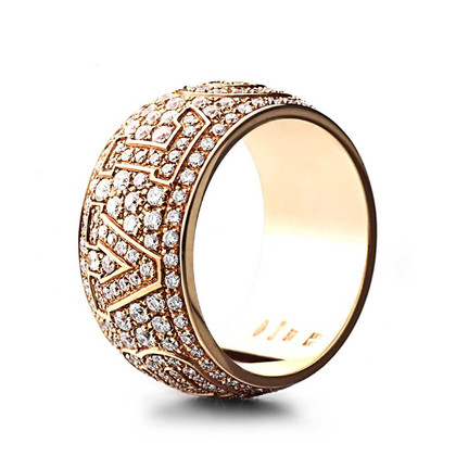 Bulgari Rose gold ring
