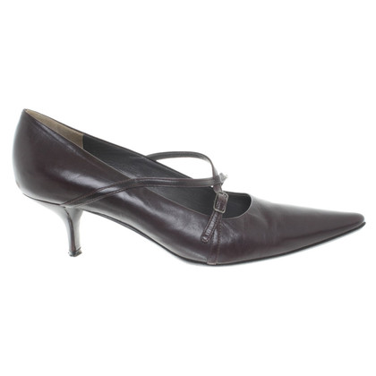 Jil Sander pumps in pelle
