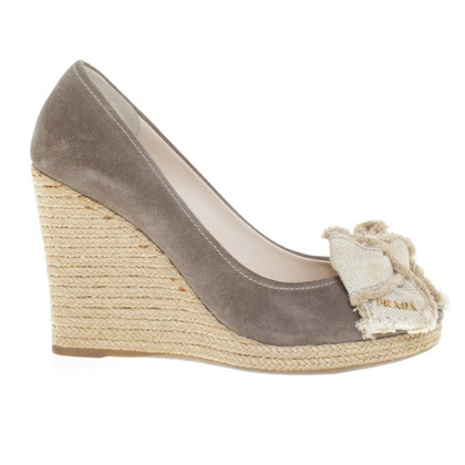 Prada Wedges in Bicolor